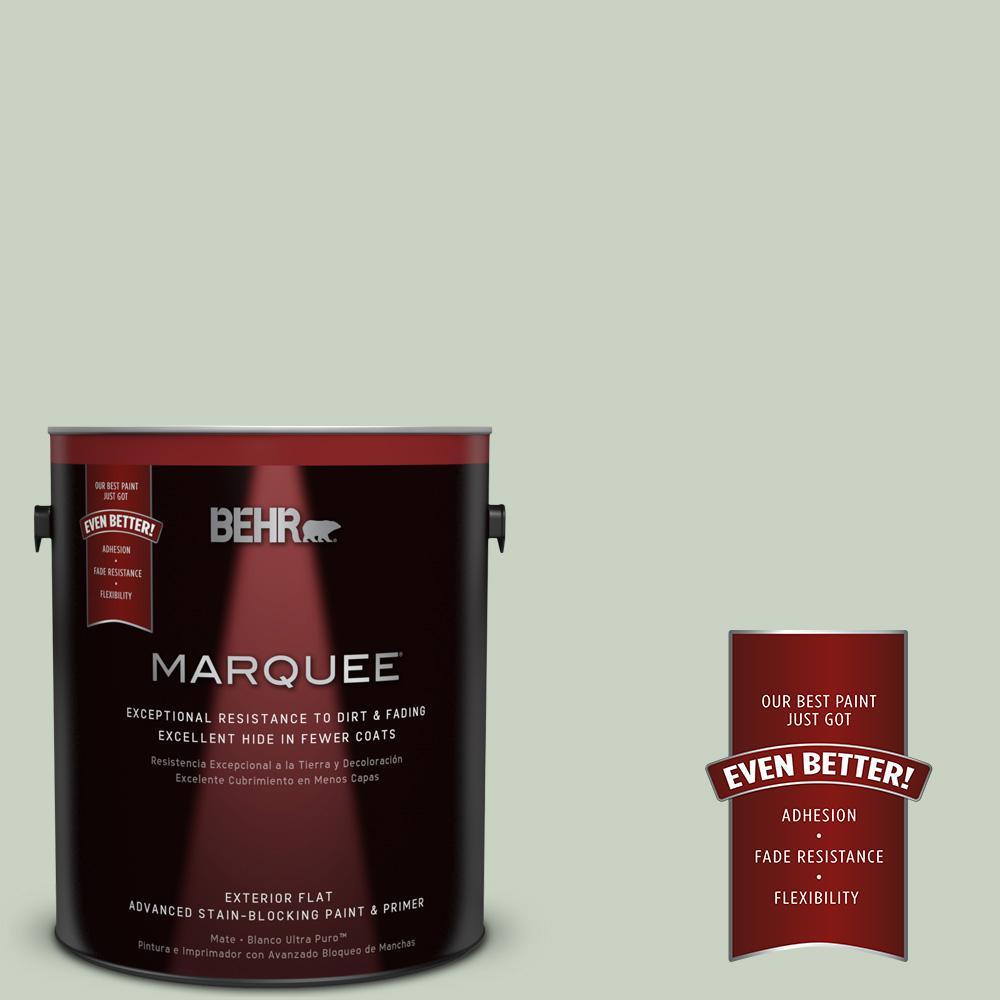 BEHR MARQUEE 1-gal. #PPU11-12 Mild Mint Flat Exterior Paint