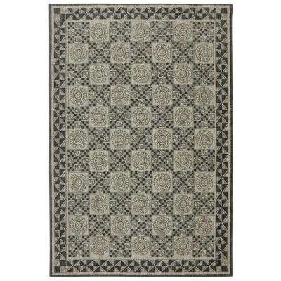 Reflections Rowan Abyss Blue 8 ft. x 10 ft. Area Rug