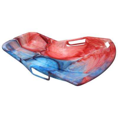 ESP Series 37 in. Snow Sprint Racer Sled in Tie-Dye