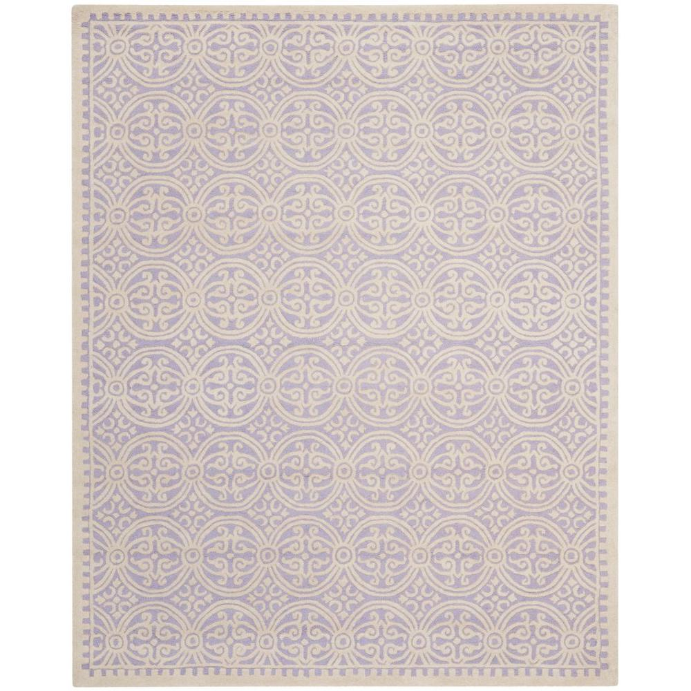 Cambridge Lavender/Ivory 7 ft. 6 in. x 9 ft. 6 in.