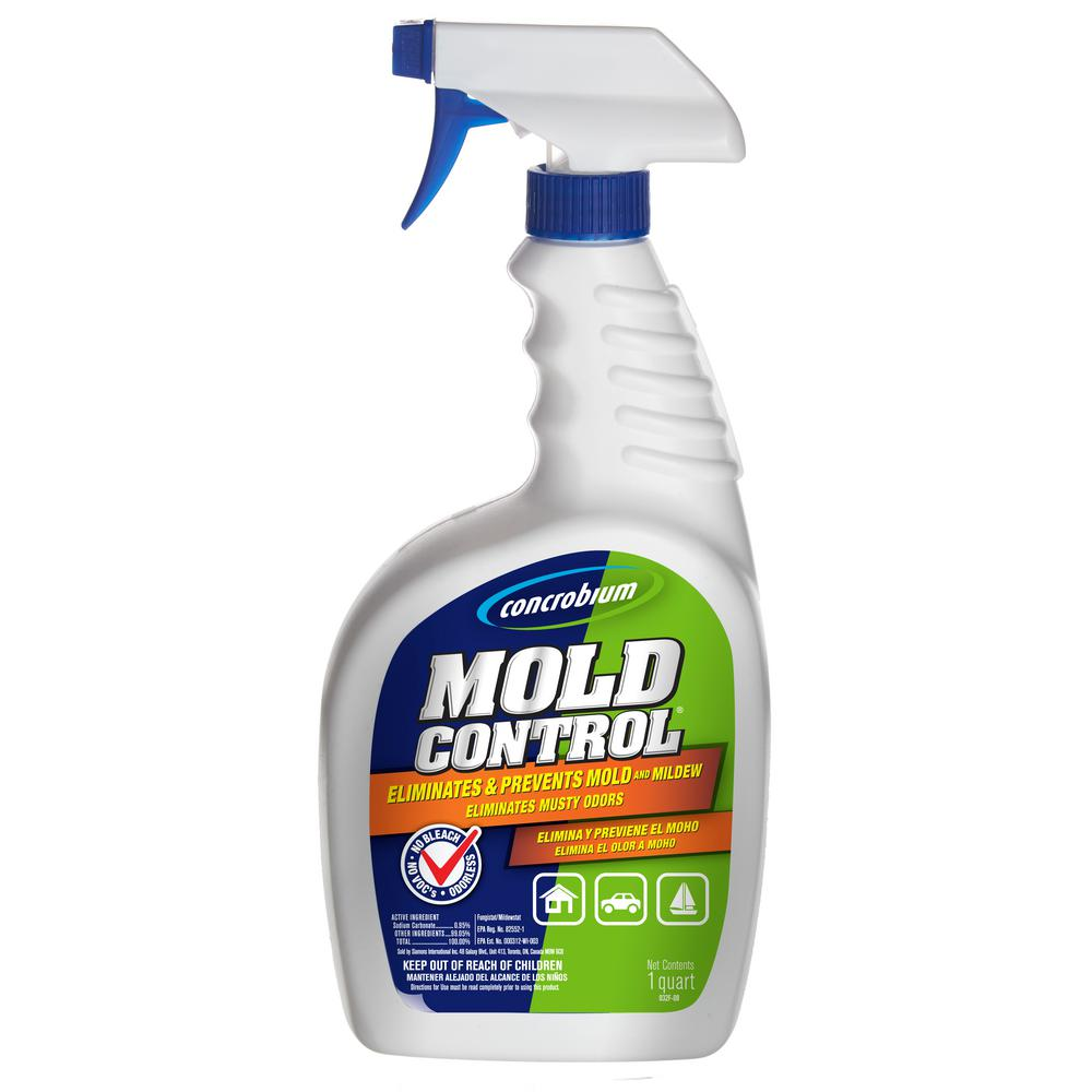 Concrobium Oz Mold Control The Home Depot - Best bathroom mildew remover