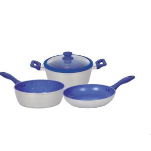 Royal Cook 4-Piece Aluminum Non-Stick Cookware Set with 1-Lid by Royal Cook