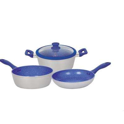 4-Piece Aluminum Non-Stick Cookware Set with 1-Lid