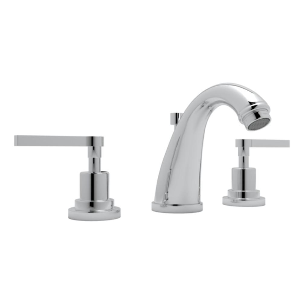 Delicieux ROHL Avanti 8 In. Widespread 2 Handle Bathroom Faucet In Polished Chrome