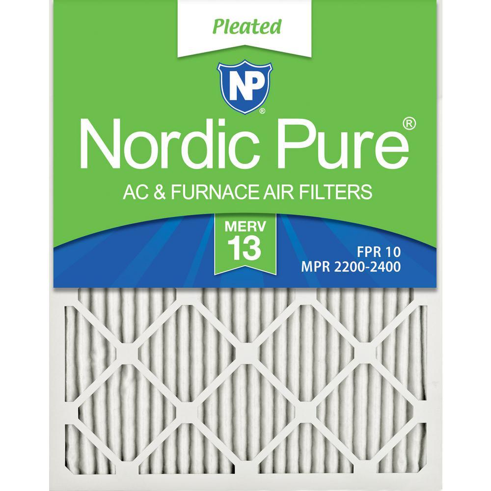 20 in. x 24 in. x 1 in. Ultimate Pleated MERV 13 - FPR 10 Air Filter (3-Pack)
