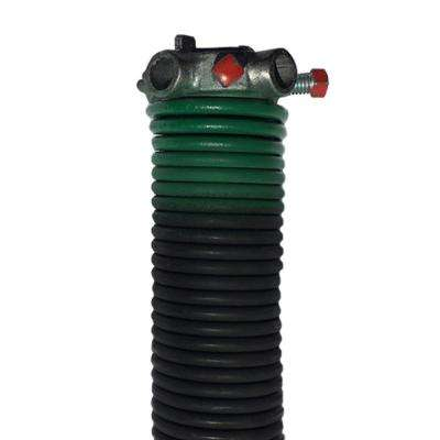 0.243 in. Wire x 2 in. D x 33 in. L Torsion Spring in Green Left Wound for Sectional Garage Doors