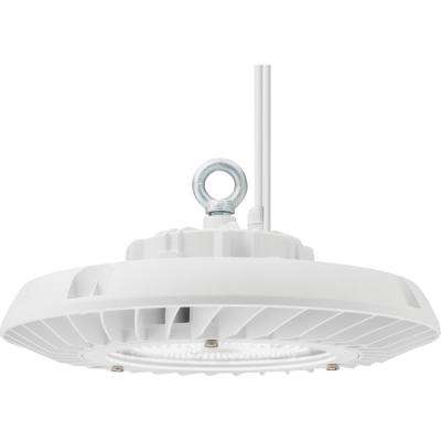 Contractor Select JEBL Series 15.75 in. 575-Watt Equivalent Integrated LED Dimmable White High Bay Light Fixture, 5000K
