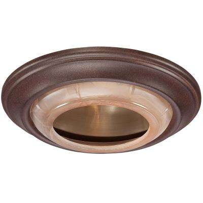 6 in. Noble Bronze Recessed Can Trim