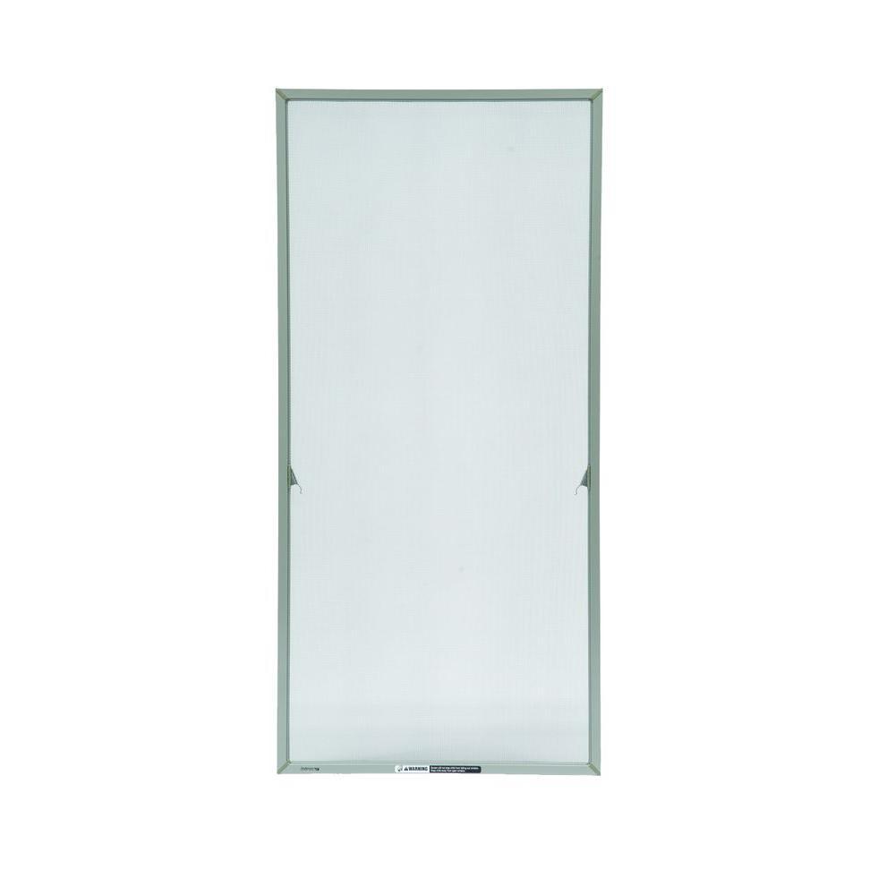 20-11/16 in. x 36-11/32 in. Stone Aluminum Casement Insect Screen