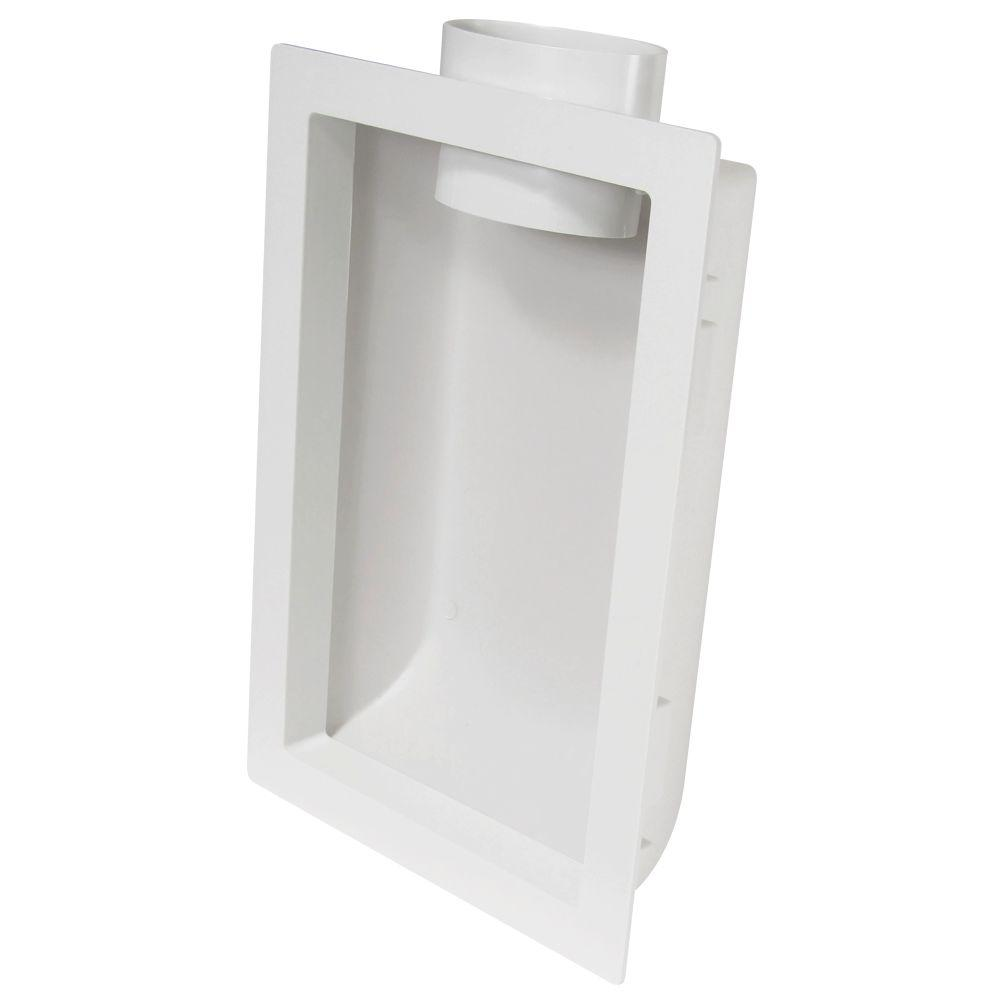 Recessed Dryer Venting Box
