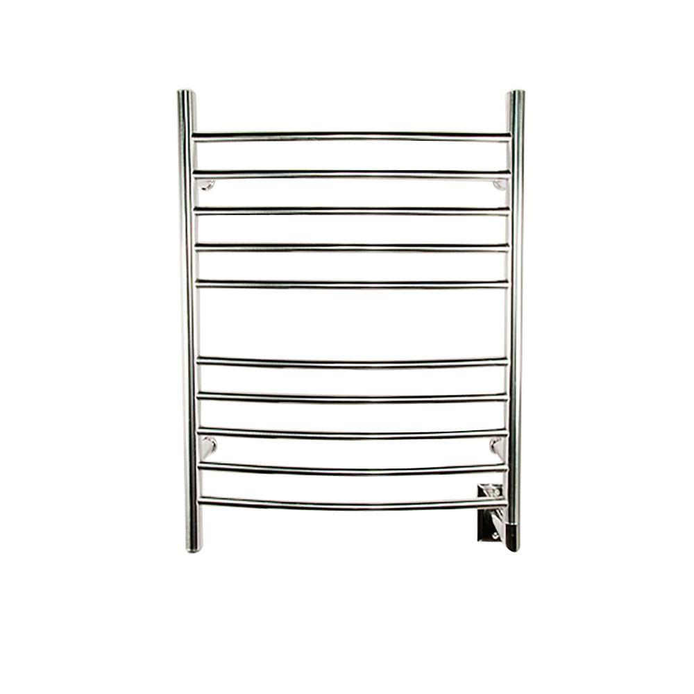 Radiant Curved Hardwired 24 in. W x 32 in. H 10-Bar