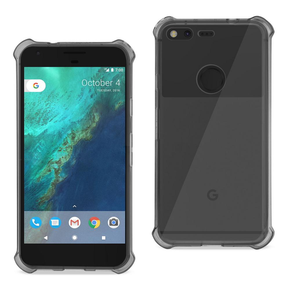 Google Pixel Air Cushion Case in Clear Black