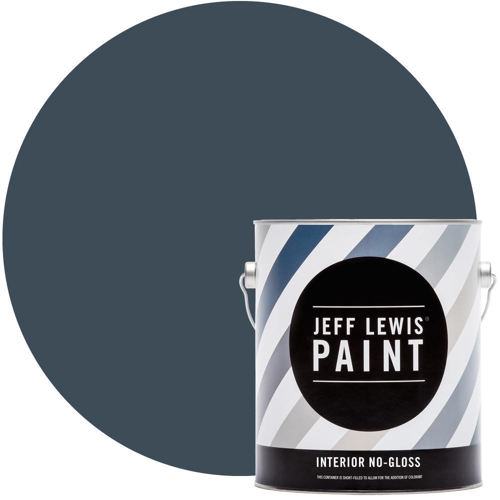 Jeff Lewis 1 gal. #318 Deep Sea Diver No Gloss Interior Paint