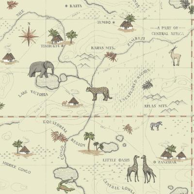 Growing Up Kids Timbuktu Removable Wallpaper