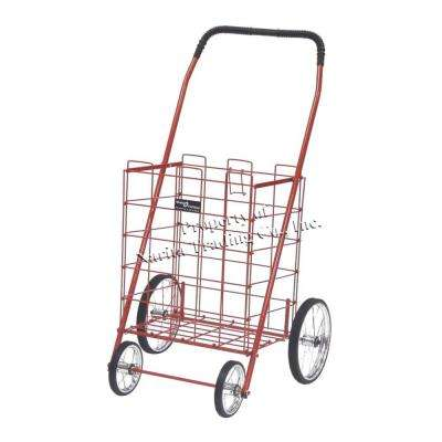 Mitey Shopping Cart in Red