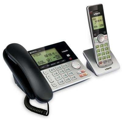 Corded/Cordless Answering System with Dual Caller ID