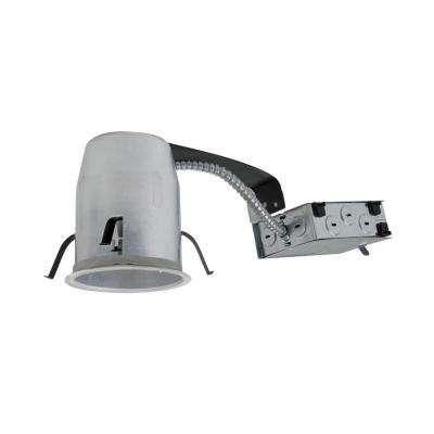 H995 4 in. Aluminum LED Recessed Lighting Housing for Remodel Ceiling, T24, Insulation Contact, Air-Tite