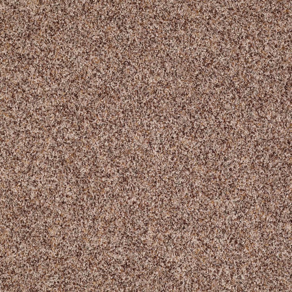 Carpet Sample - Slingshot I - In Color Basket Weave 8 in. x 8 in., Browns/Tans