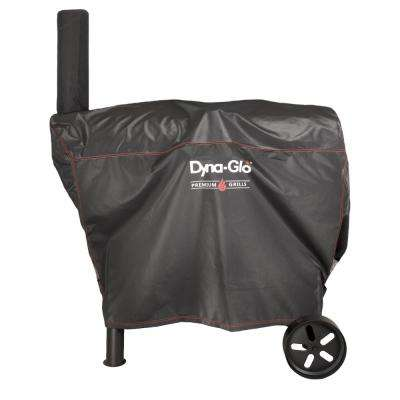 51 in. Barrel Charcoal Grill Cover