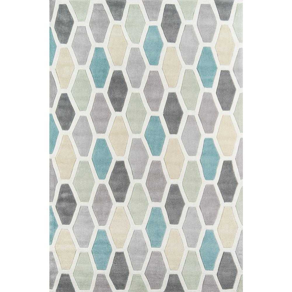 Bliss Multi 5 ft. x 8 ft. Indoor Area Rug