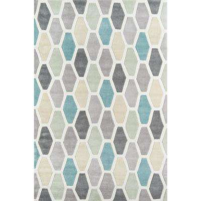 Bliss Multi 8 ft. x 10 ft. Indoor Area Rug