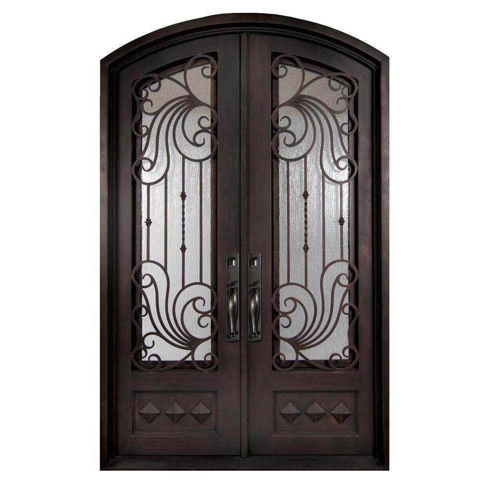 Superieur Iron Doors Unlimited 74 In. X 97.5 In. Mara Marea Classic 3/4