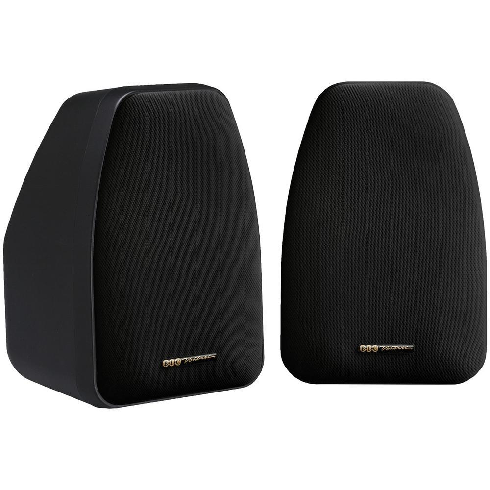 3-1/2 in. 125-Watt 2-Way Compact Shielded Speaker