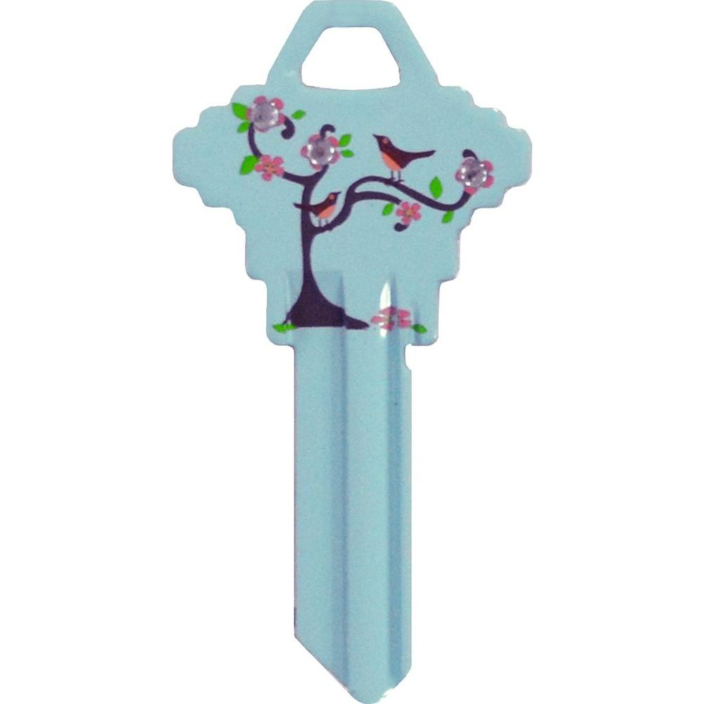 The Hillman Group #68 Diva Tree Bird Key-87042 - The Home Depot