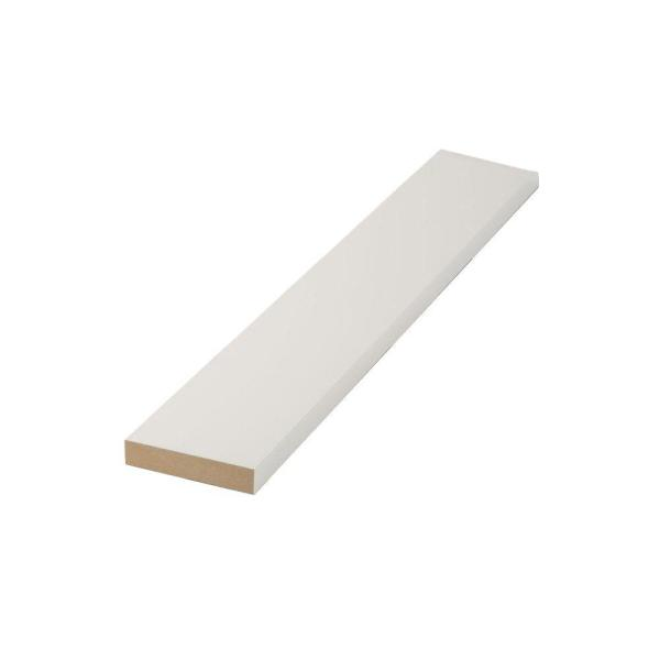 1 in. x 3 in. x 8 ft. MDF Moulding Board
