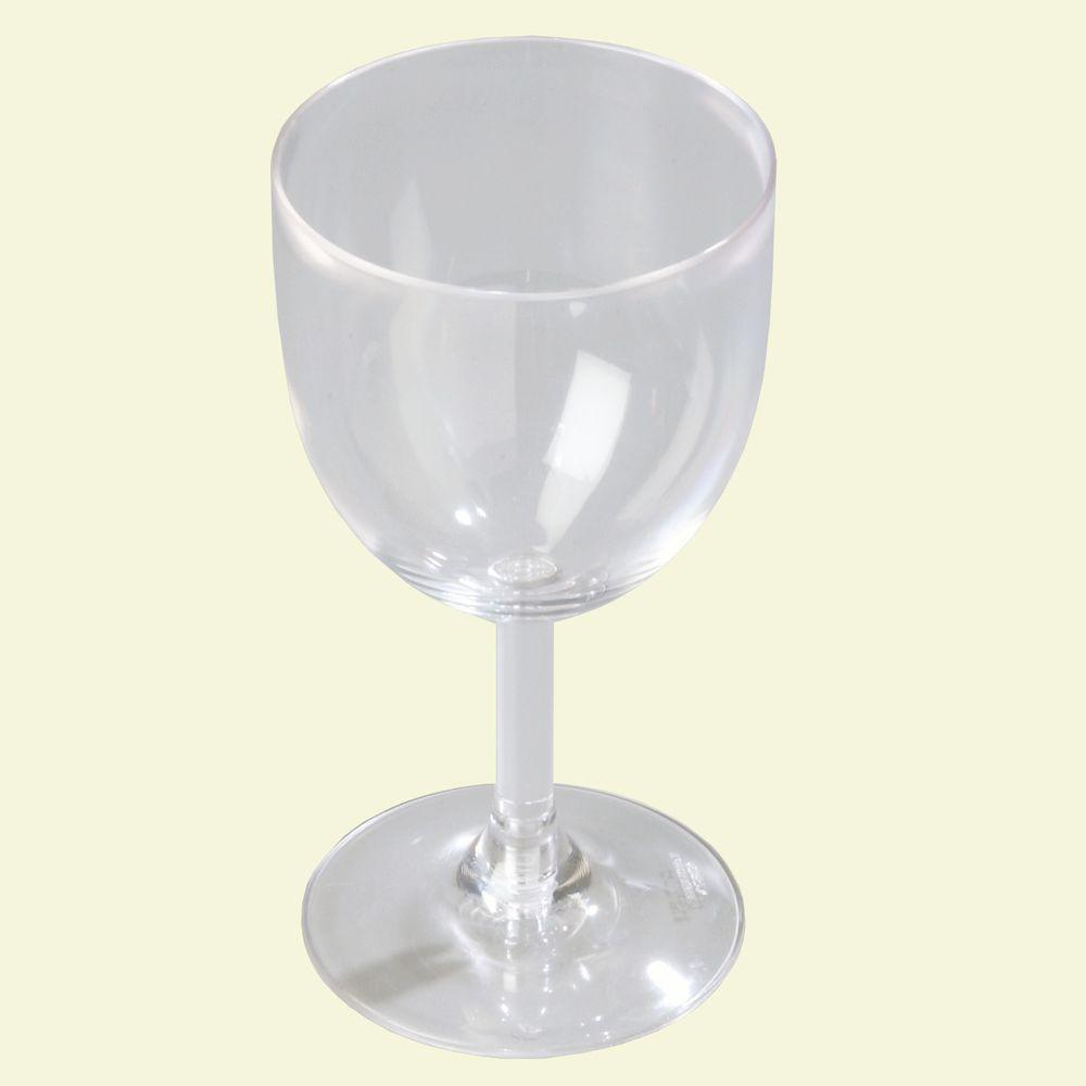 Carlisle 10.5 oz. Polycarbonate Wine Glass in Clear (Case of 24)