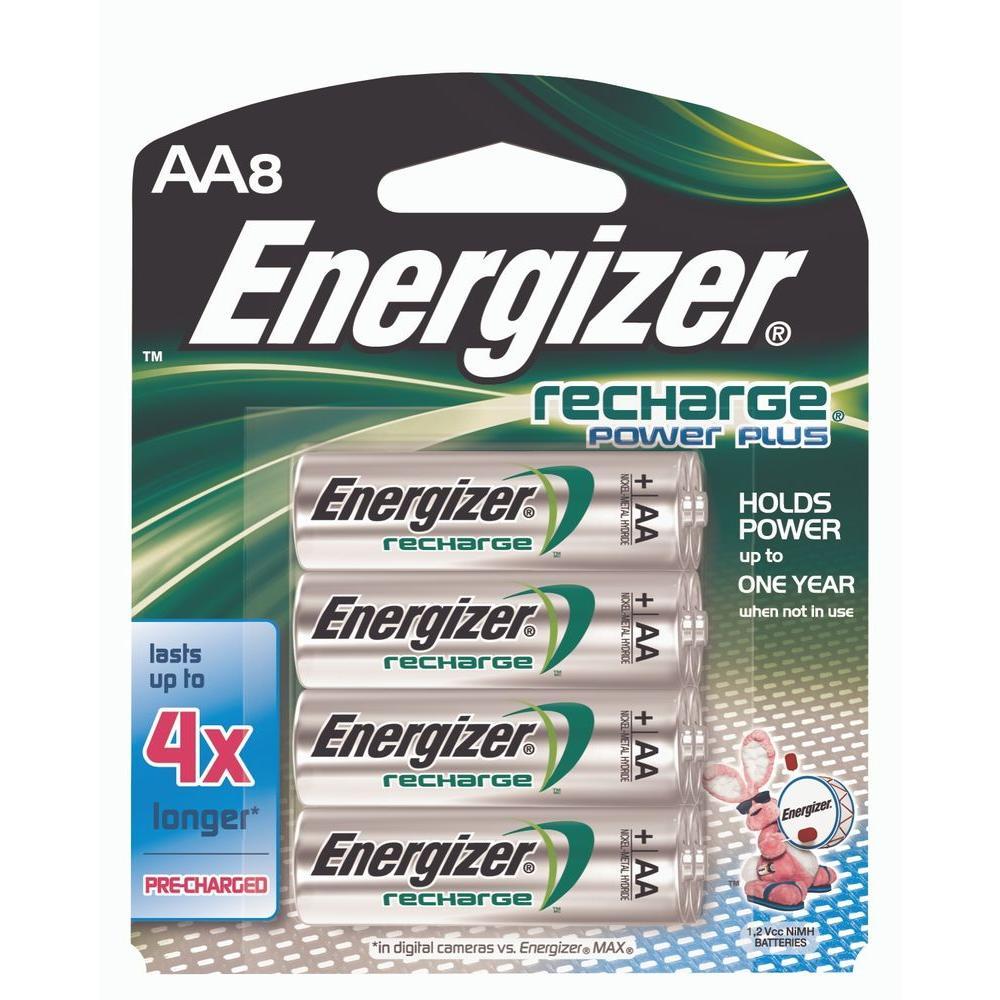 Energizer Nickel Metal Hydride (NiMH) AA Battery (8-Pack)