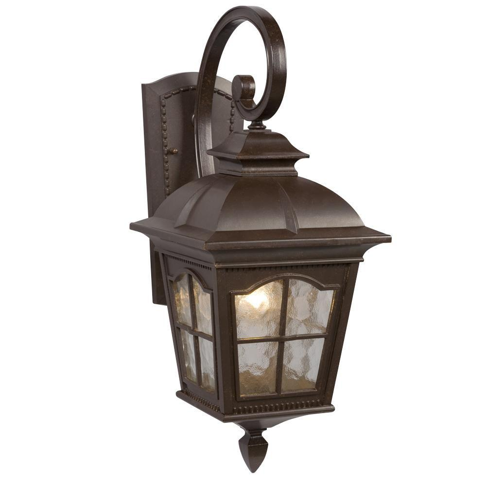 Filament Design Negron 1-Light Outdoor Bronze Wall Lantern