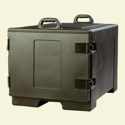 Insulated Sheet Pan and Tray Carrier with Nylex Latches in Black