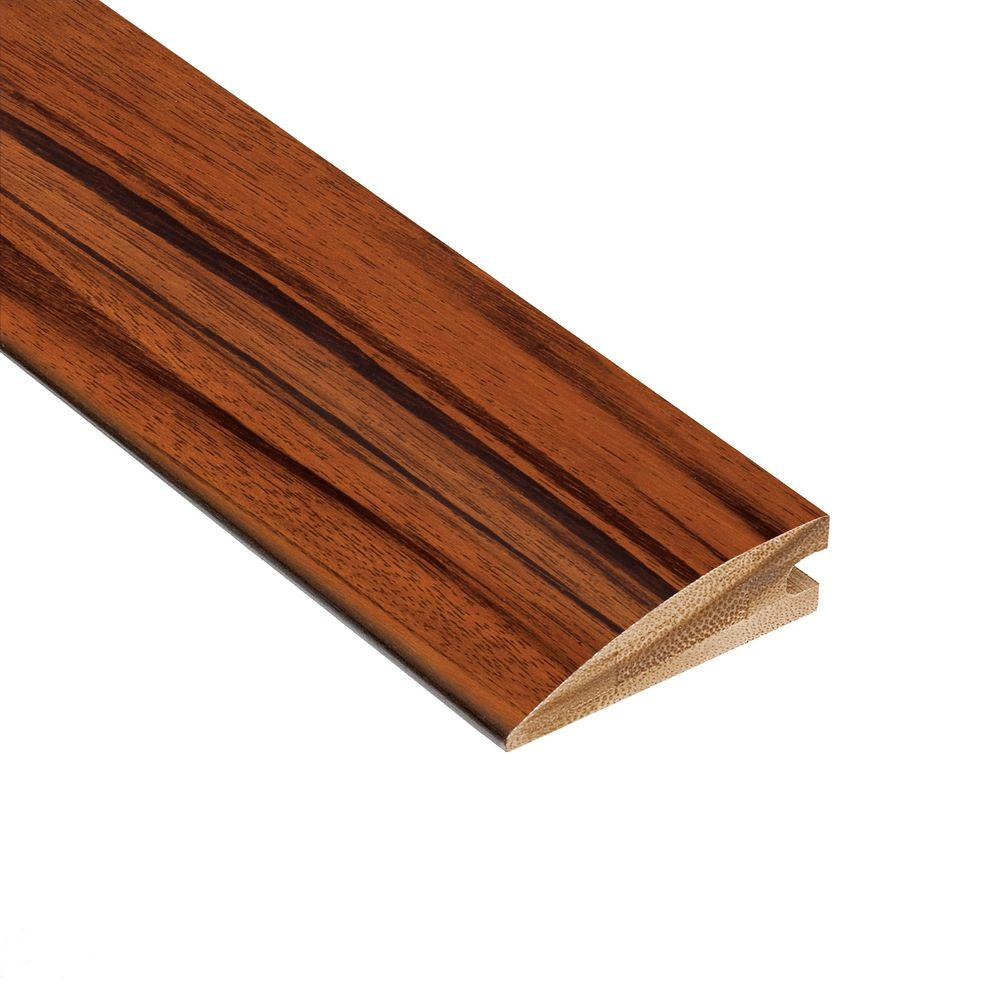 Home Legend Exotic Tigerwood 5/8 in. Thick x 2 in. Wide x 78 in. Length Bamboo Hard Surface Reducer Molding