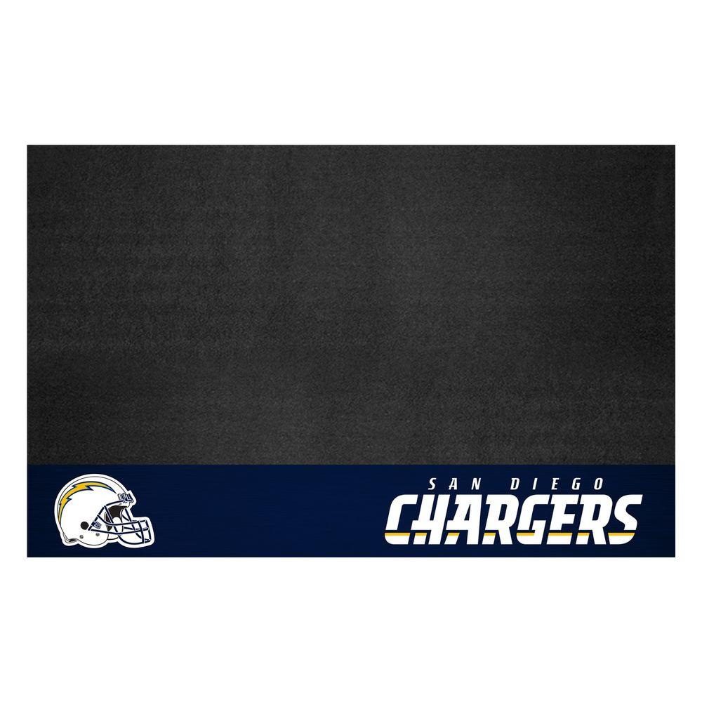 San Diego Chargers 26 in. x 42 in. Grill Mat