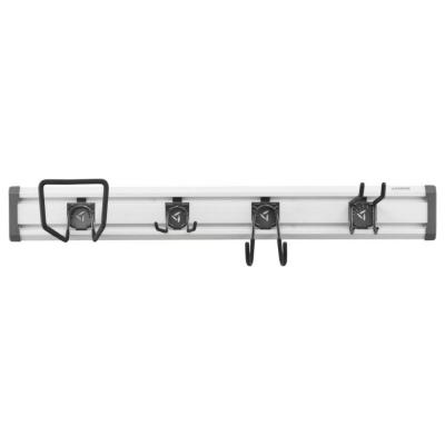 48 in. L GearTrack Lawn and Garden Garage Wall Storage Kit with 4-Hooks
