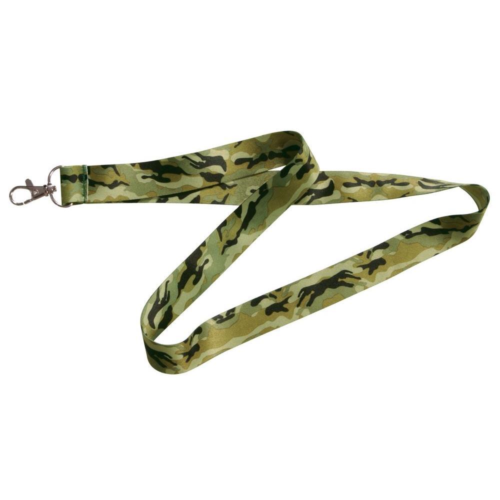 Green Camouflage Lanyard