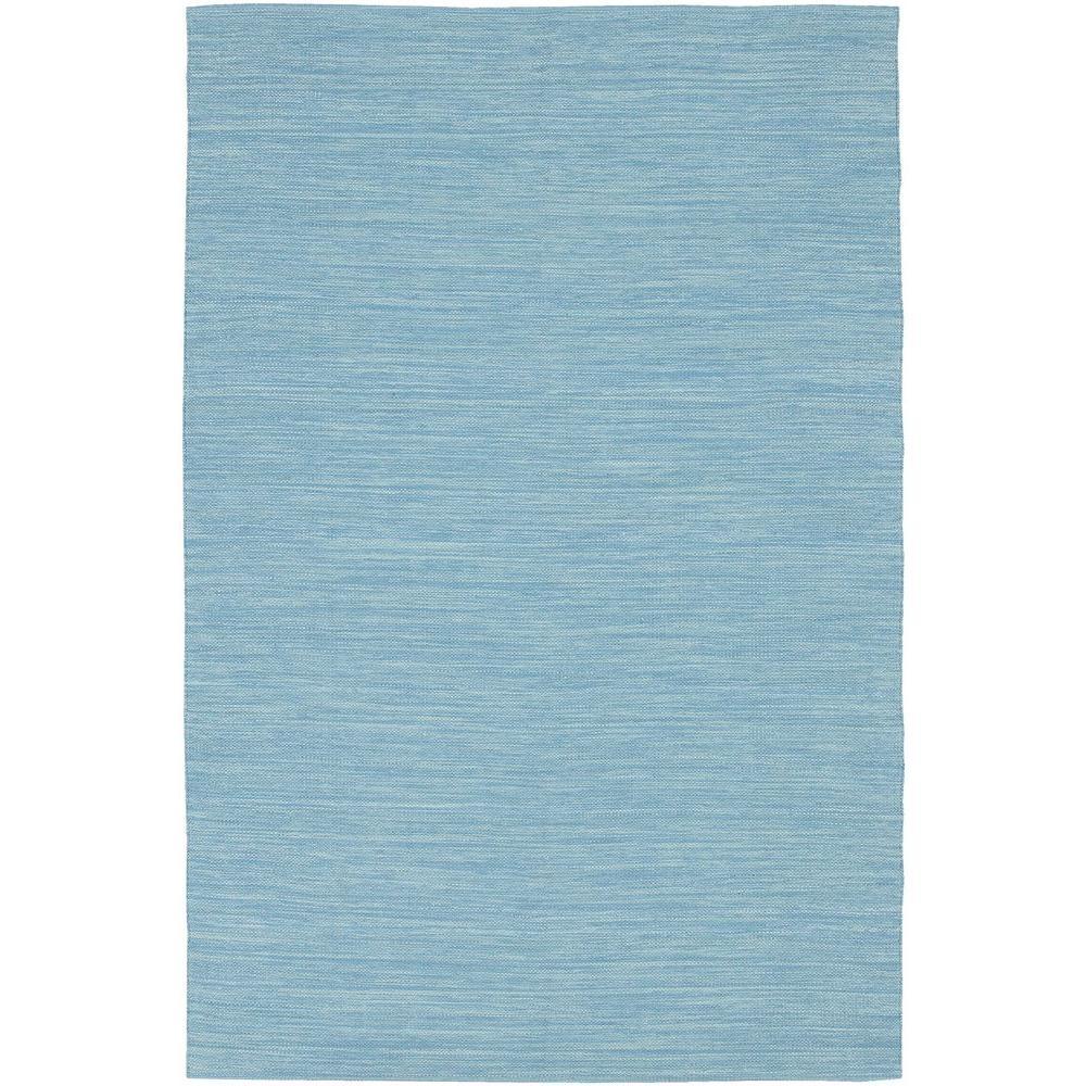 India Blue 8 ft. x 11 ft. Indoor Area Rug