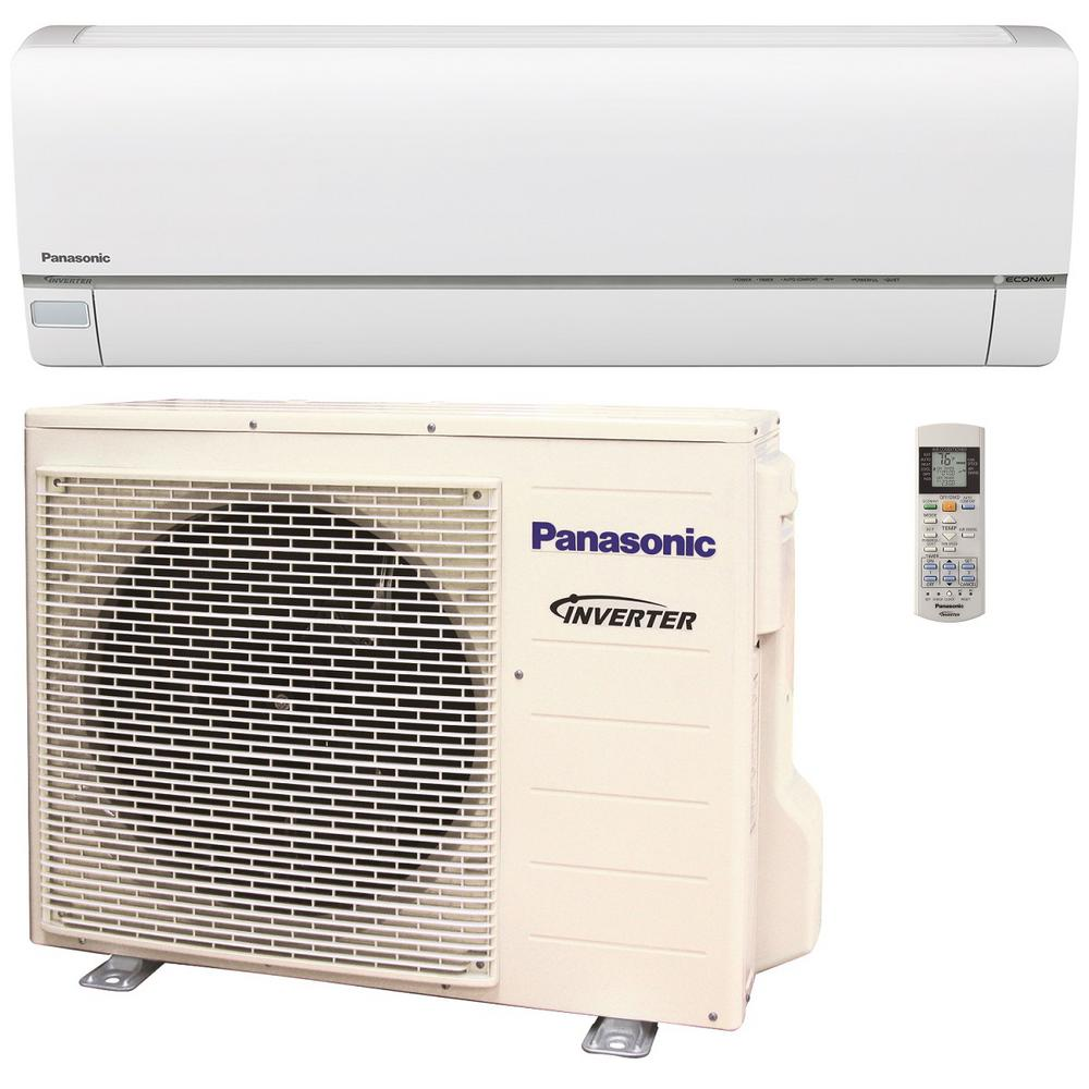 Panasonic 15 000 btu ton exterios xe high seer for Ductless ac