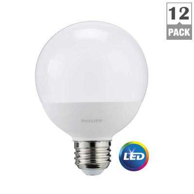 Superb 60 Watt Equivalent G25 LED Light Bulb Daylight Frosted Globe (12 Pack) Great Pictures