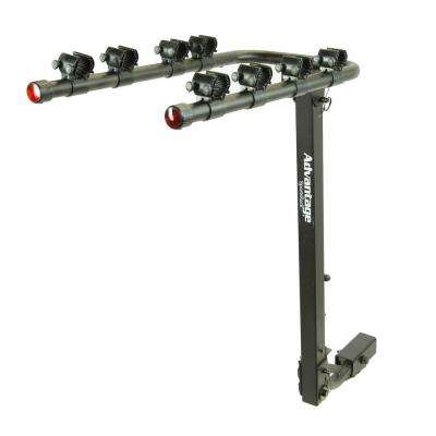 TiltAWAY 4-Bike Rack Hitch Bike Rack