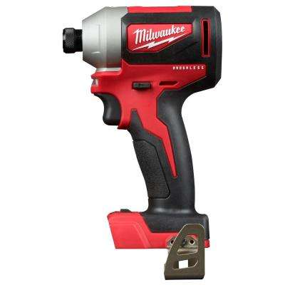 M18 18-Volt Lithium-Ion Brushless Cordless 1/4 in. Impact Driver with 3-Speeds (Tool-Only)