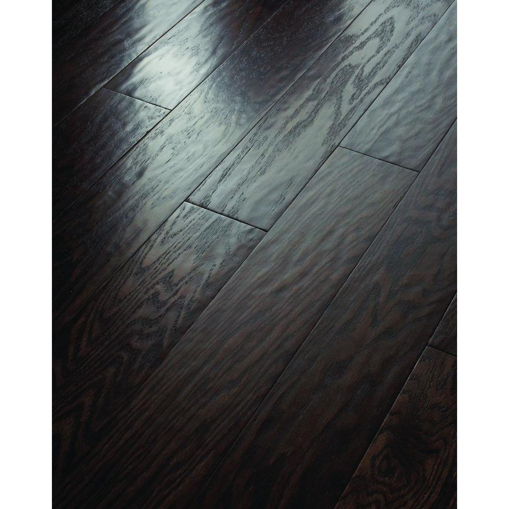 Shaw 3/8 in. x 5 in. Subtle Scraped Ranch House Barnwood Oak Engineered Hardwood Flooring (19.72 sq. ft. / case)