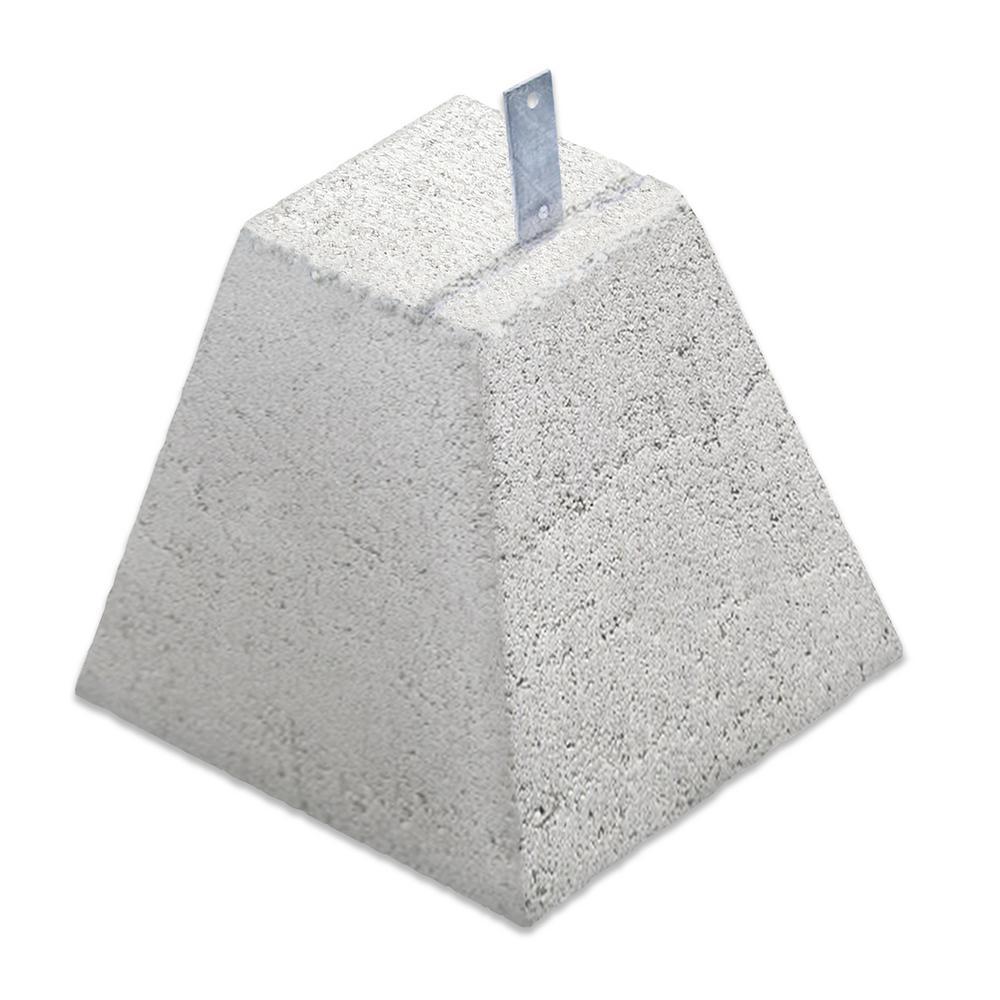 Concrete Garage Pier Block With Strap