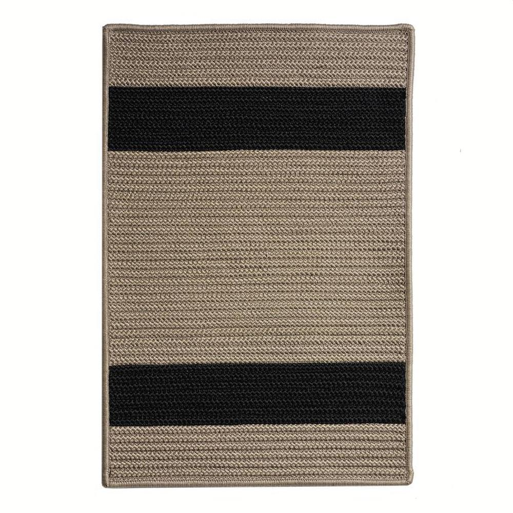 Home Decorators Collection Cafe Milano 11 ft. x 11 ft. Tostado/Black Indoor/Outdoor Braided Area Rug