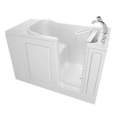 Value Series 48 in. Right Hand Walk-In Whirlpool Bathtub in White