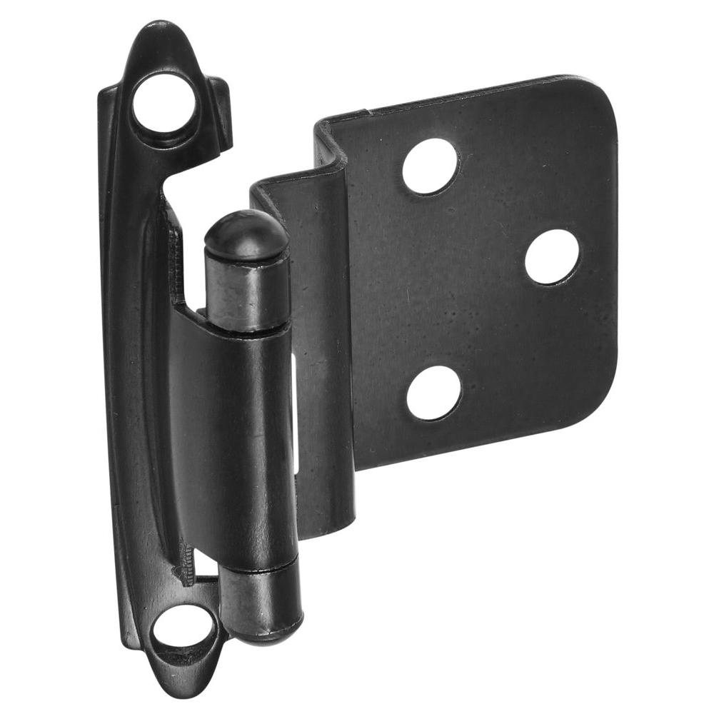 Stanley-National Hardware Standard Spring Cabinet Hinge in Oil-Rubbed Bronze
