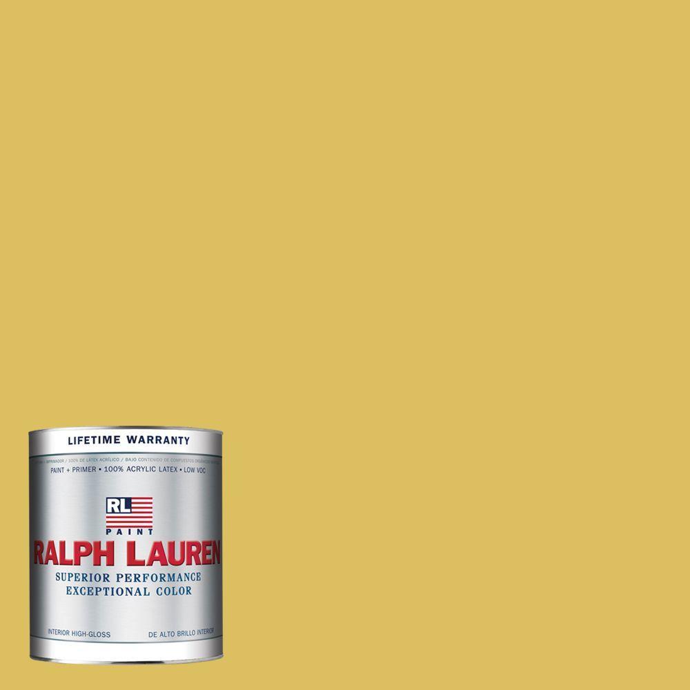 Ralph Lauren 1-qt. Medici Yellow Hi-Gloss Interior Paint