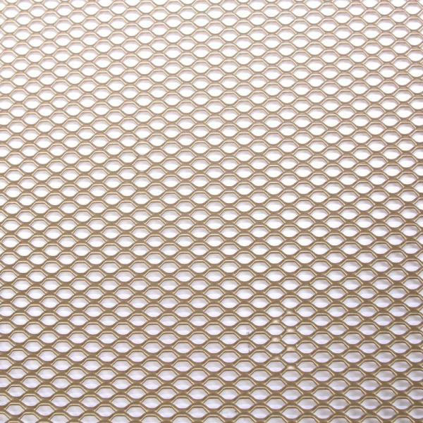 36 in. x 48 in. Expandable Aluminum Sheet in Brass
