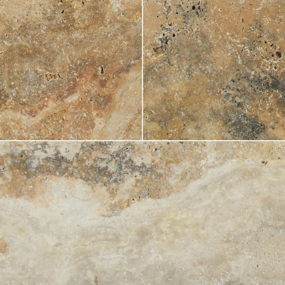 MSI Porcini 16 in. x 24 in. Tumbled Travertine Paver Tile (15 Pieces / 40.05 Sq. ft. / Pallet)